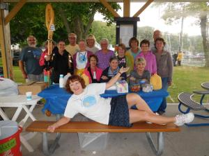 2017 Cold Creek Bridge Walk volunteers