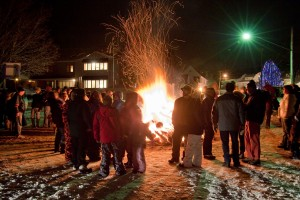 Winterfest 2016 Bonfire