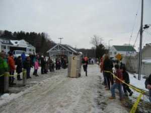 Winterfest 2017  Outhouse Race