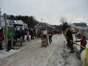 Winterfest 2017  Outhouse Race 2