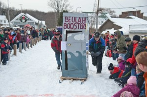 Winterfest 2016 Outhouse Race